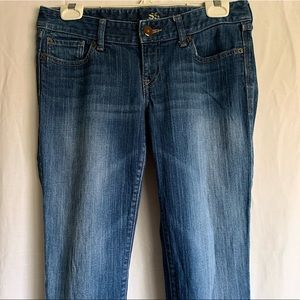 Express Boot Cut Low Rise Jeans